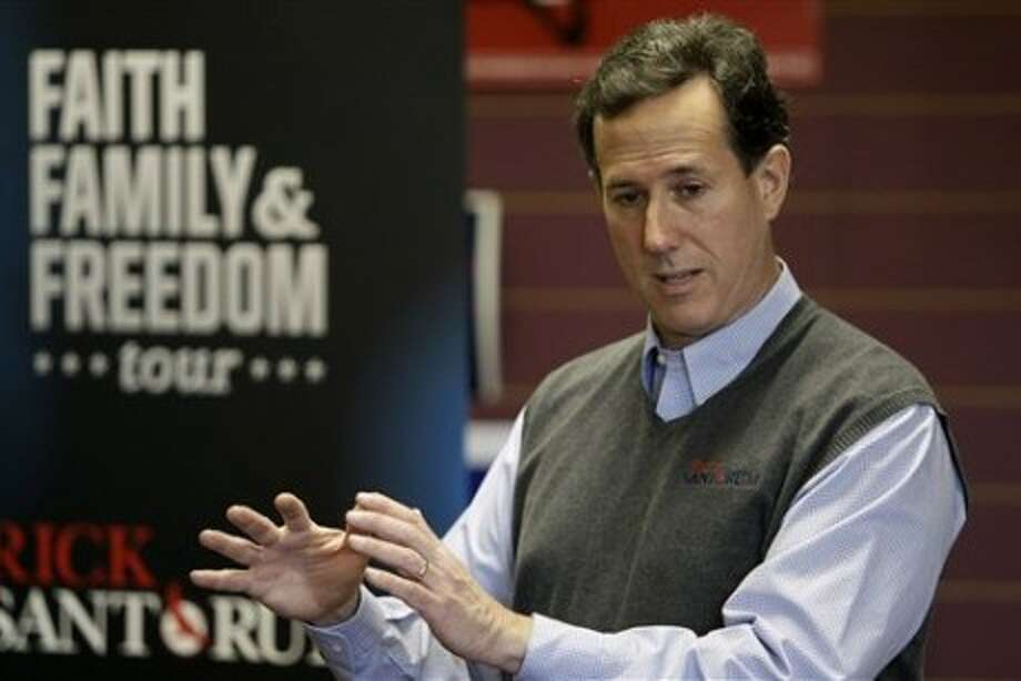 Rick Santorum, the former Pennsylvania congressman and GOP contender in 2012, speaks out against Ted Cruz.