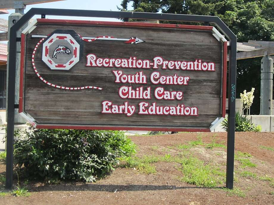 It's not easy to prevent recreation at a youth center but it's a point of pride at this institute. La Conner, Washington. Photo: Norma Bozzini/signspotting.com