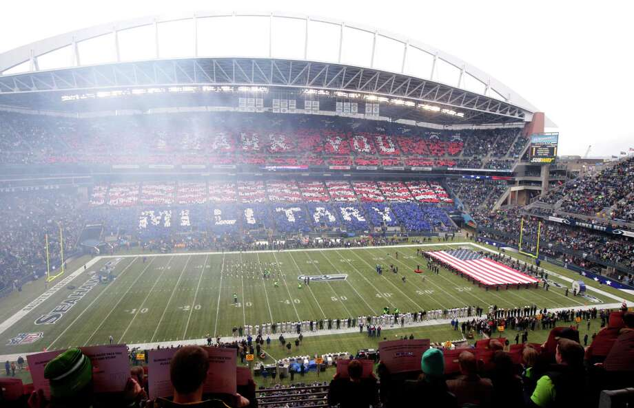 New York Jets Seattle Seahawks in the first half of an NFL football game, Sunday, Nov. 11, 2012, in Seattle. Photo: AP