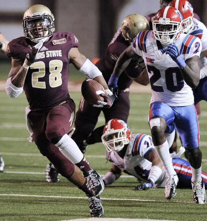 11. Texas State (3-6, next game Saturday at Navy) — Amazing offensive turnaround comes up just short against Louisiana Tech, which is glad to finish games with the South Texas teams on its schedule. Darren Abate/Associated Press (Associated Press)