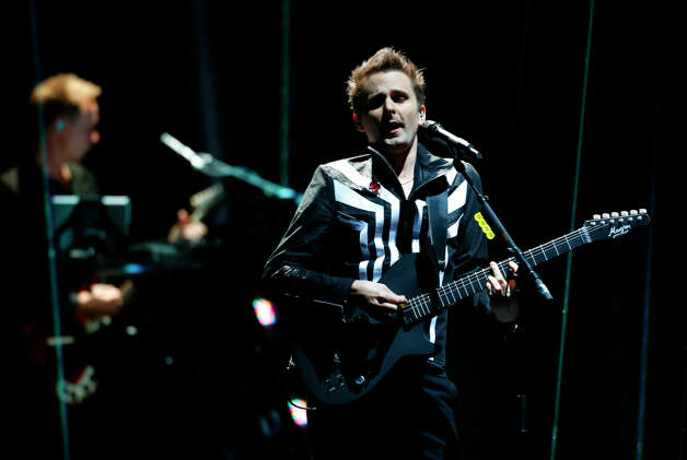 British band Muse perform during the 2012 MTV European Music Awards show at the Festhalle in Frankfurt, central Germany, Sunday, Nov. 11, 2012. Photo: Michael Probst, Associated Press / AP