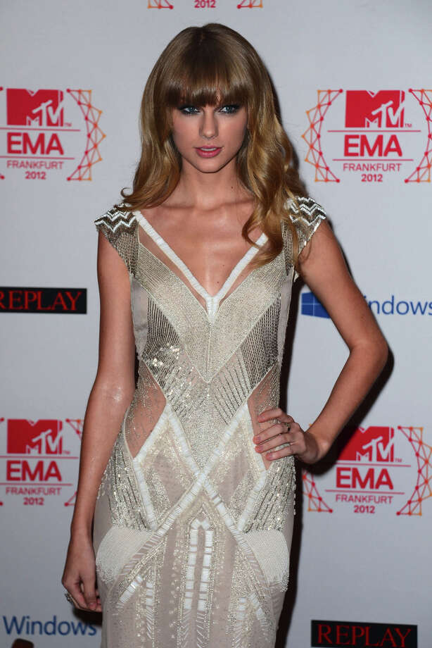 Singer Taylor Swift attends the MTV EMA's 2012 at Festhalle Frankfurt on November 11, 2012 in Frankfurt am Main, Germany. Photo: Ian Gavan, Getty Images For MTV / 2012 Getty Images