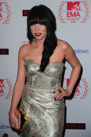 Carly Rae Jepsen attends the MTV EMA's 2012 at Festhalle Frankfurt on November 11, 2012 in Frankfurt am Main, Germany. Photo: Ian Gavan, Getty Images For MTV / 2012 Getty Images