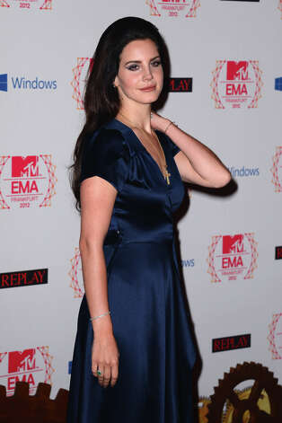 Singer Lana Del Ray attends the MTV EMA's 2012 at Festhalle Frankfurt on November 11, 2012 in Frankfurt am Main, Germany. Photo: Ian Gavan, Getty Images For MTV / 2012 Getty Images