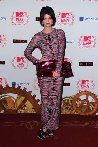Pixie Geldof attends the MTV EMA's 2012 at Festhalle Frankfurt on November 11, 2012 in Frankfurt am Main, Germany. Photo: Ian Gavan, Getty Images For MTV / 2012 Getty Images