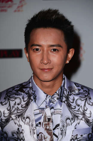 Chinese singer Han Geng attends the MTV EMA's 2012 at Festhalle Frankfurt on November 11, 2012 in Frankfurt am Main, Germany. Photo: Ian Gavan, Getty Images For MTV / 2012 Getty Images