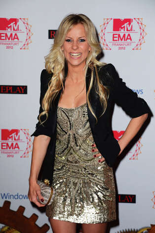 Viva host, Romina attends the MTV EMA's 2012 at Festhalle Frankfurt on November 11, 2012 in Frankfurt am Main, Germany. Photo: Ian Gavan, Getty Images For MTV / 2012 Getty Images