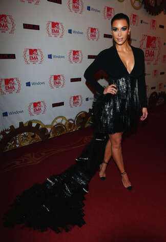 Kim Kardashian attends the MTV EMA's 2012 at Festhalle Frankfurt on November 11, 2012 in Frankfurt am Main, Germany. Photo: Tim Whitby, Getty Images For MTV / 2012 Getty Images