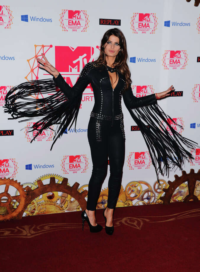 Isabeli Fontana attends the MTV EMA's 2012 at Festhalle Frankfurt on November 11, 2012 in Frankfurt am Main, Germany. Photo: Ian Gavan, Getty Images For MTV / 2012 Getty Images