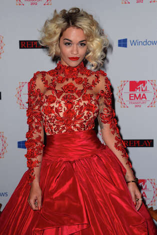 Rita Ora attends the MTV EMA's 2012 at Festhalle Frankfurt on November 11, 2012 in Frankfurt am Main, Germany. Photo: Ian Gavan, Getty Images For MTV / 2012 Getty Images