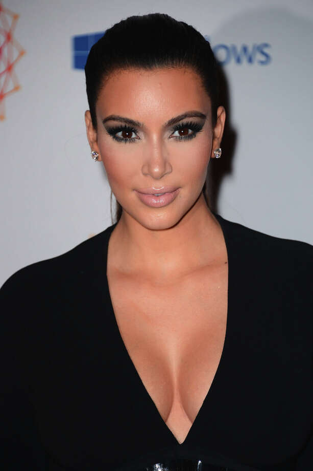 Kim Kardashian attends the MTV EMA's 2012 at Festhalle Frankfurt on November 11, 2012 in Frankfurt am Main, Germany. Photo: Ian Gavan, Getty Images For MTV / 2012 Getty Images
