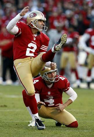 David Akers's fourth quarter field goal tied the game at 24. The San Francisco 49ers played the St. Louis Rams at Candlestick Park in San Francisco, Calif., on Sunday, November 11, 2012. The teams played to a tie in overtime. Photo: Carlos Avila Gonzalez, The Chronicle
