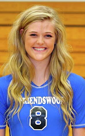 Jill Bergeson, Friendswood volleyball Photo: Handout