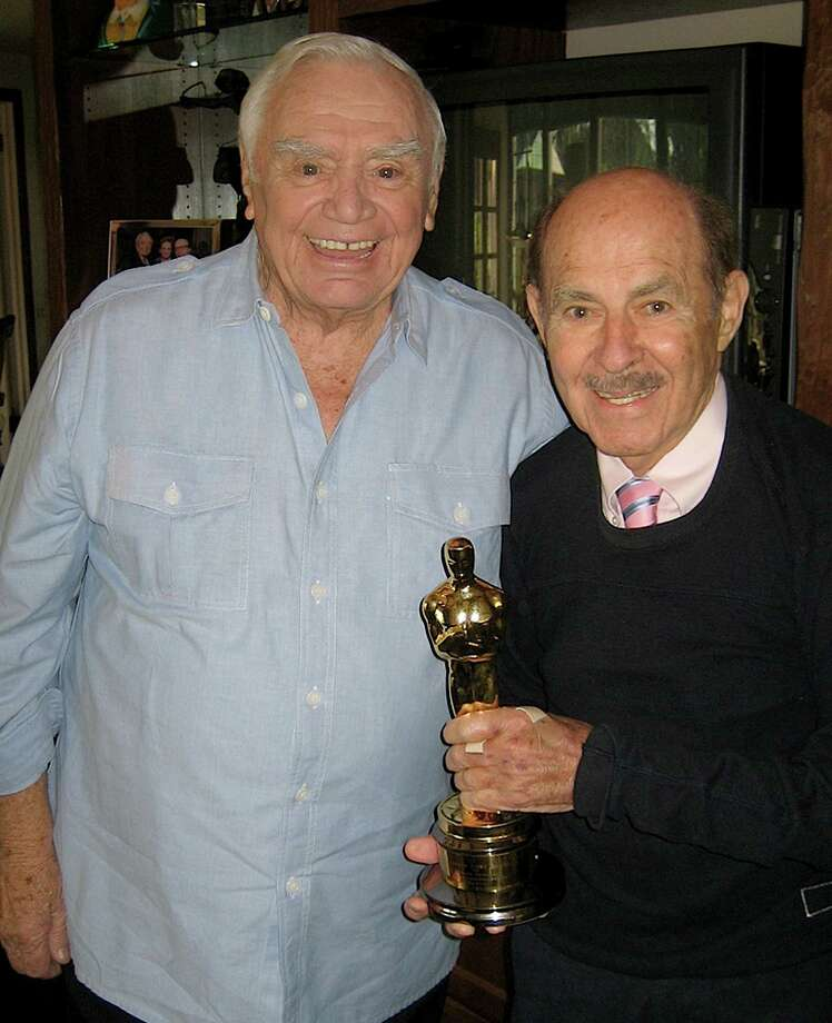 This Oct. 10, 2008 photo from the Archive of American Television shows television producer and executive Henry Colman, right, with actor Ernest Borgnine. Colman, whose credits include ?The Love Boat,? ?Hawaii Five-O? and ?Green Acres,? has died. He was 89. Colman died Wednesday, Nov. 7, 2012, according to an announcement Sunday, Nov. 11,  by the Archive of American Television. (AP Photo/Archive of American Television) Photo: Anonymous, HONS / Archive of American Television)