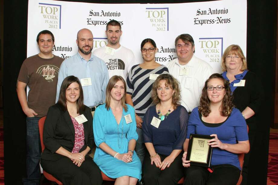Denim Group ranks 23rd among small businesses  in San     Antonio at   the 2012 San Antonio Express-News Top Workplaces   Luncheon –      Wednesday, October 17, 2012 Photo: San Antonio Express-News