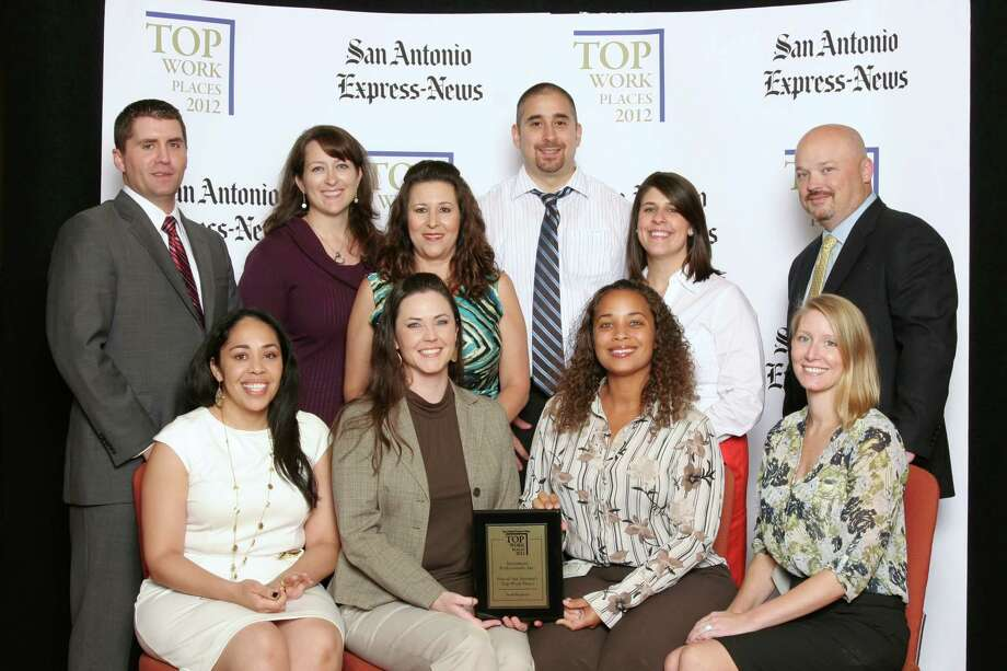 Investment Professionals, Inc. ranks 18th among small businesses  in San    Antonio at   the 2012 San Antonio Express-News Top Workplaces  Luncheon –      Wednesday, October 17, 2012 Photo: San Antonio Express-News