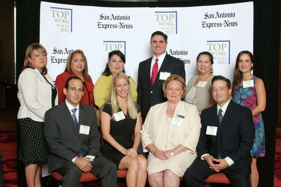 Jefferson Bank ranks 2nd among midsized businesses  in San    Antonio at   the 2012 San Antonio Express-News Top Workplaces  Luncheon –      Wednesday, October 17, 2012 Photo: San Antonio Express-News