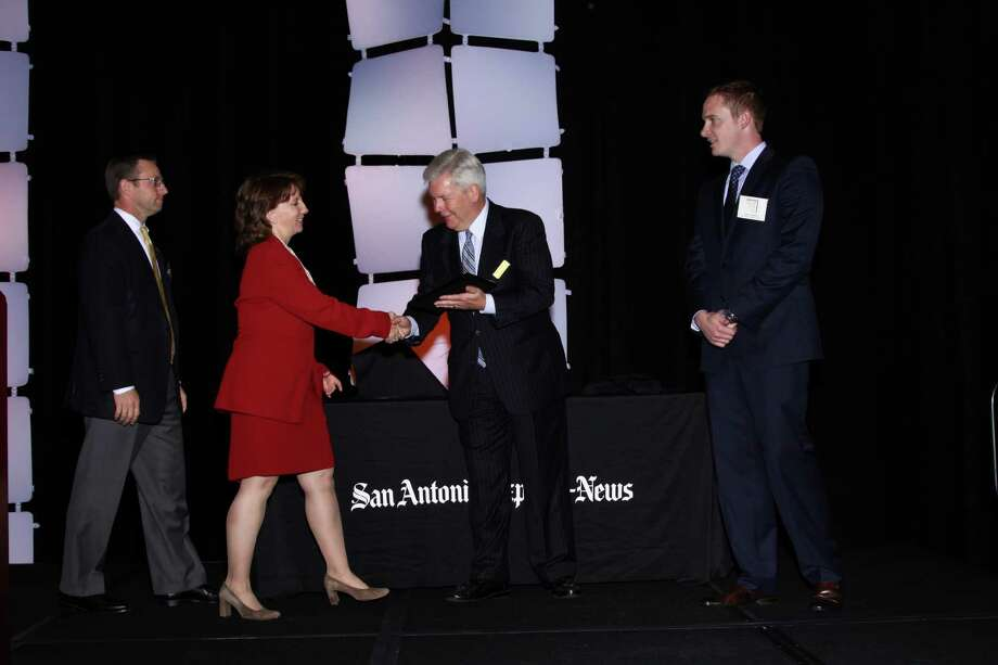 JW Marriott San Antonio Hill Country Resort & Spa ranks 2nd among large businesses  in San    Antonio at  the 2012 San Antonio Express-News Top Workplaces  Luncheon –     Wednesday, October 17, 2012 Photo: San Antonio Express-News