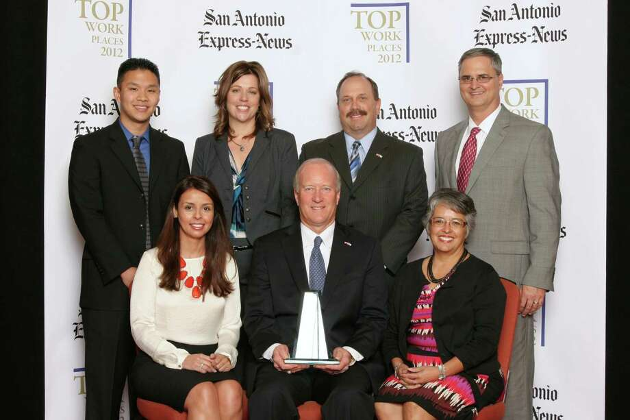 NuStar Energy L.P ranks 1st among large businesses  in San    Antonio at  the 2012 San Antonio Express-News Top Workplaces  Luncheon –     Wednesday, October 17, 2012 Photo: San Antonio Express-News