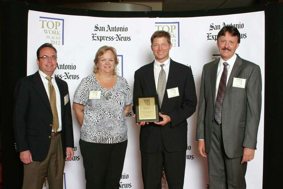 Pollock Paper Distributors ranks 43rd among small businesses  in San     Antonio at the 2012 San Antonio Express-News Top Workplaces  Luncheon –     Wednesday, October 17, 2012 Photo: San Antonio Express-News