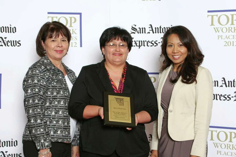 Quest Diagnostics ranks 16th among midsized businesses  in San  