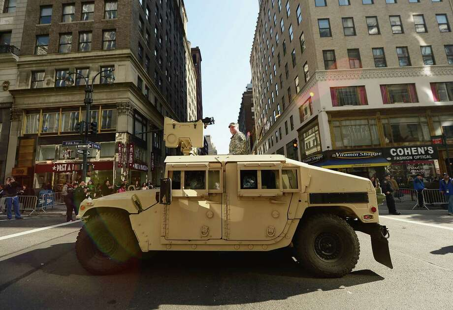 Actual Humvee Photo: Michael Loccisano, Getty Images / 2012 Getty Images