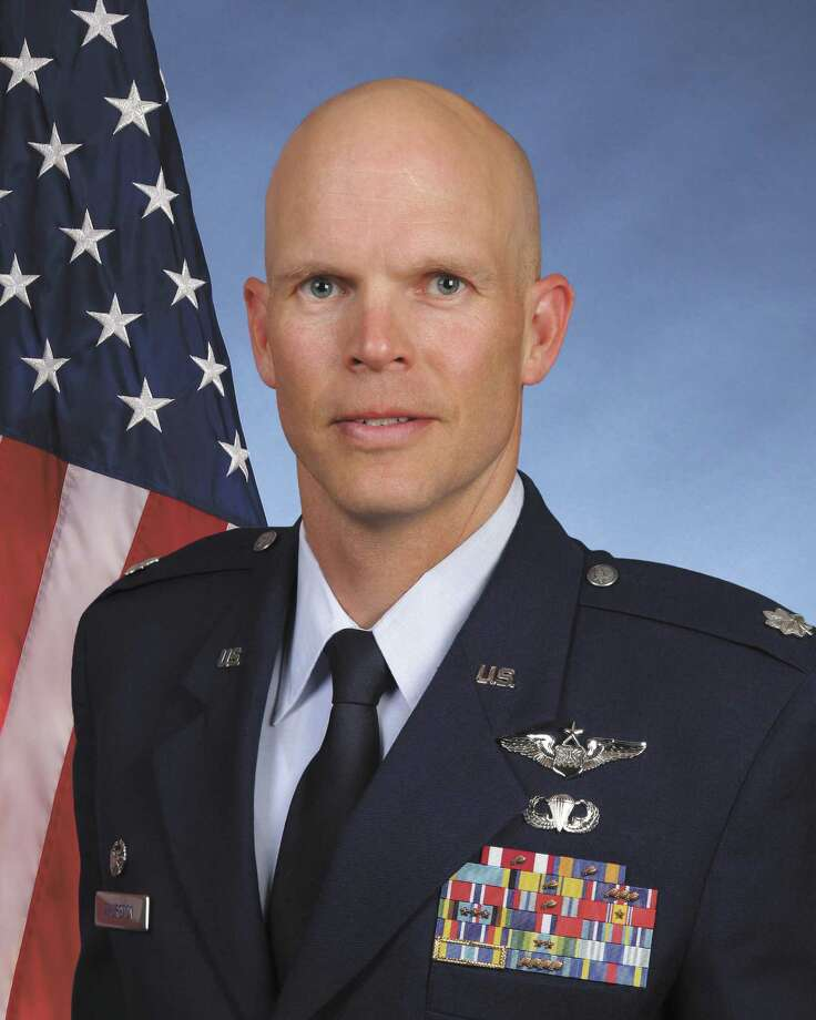 Lt. Col. Timothy Thurston is commander of the 322nd Training Squadron.  Photo: Courtesy