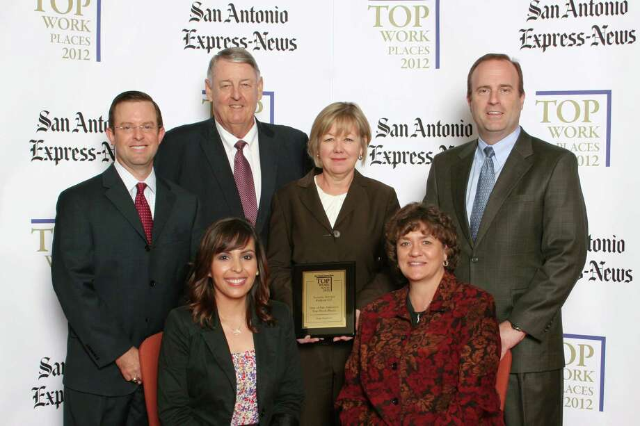 Security Service Federal Credit Union ranks 8th among large businesses  in San  Antonio at the 2012 San Antonio Express-News Top Workplaces  Luncheon –  Wednesday, October 17, 2012 Photo: San Antonio Express-News