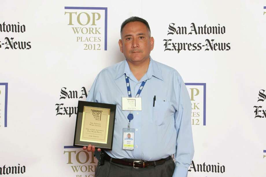 San Antonio Water System ranks 10th among large businesses in San  Antonio at the 2012 San Antonio Express-News Top Workplaces Luncheon –  Wednesday, October 17, 2012 Photo: San Antonio Express-News