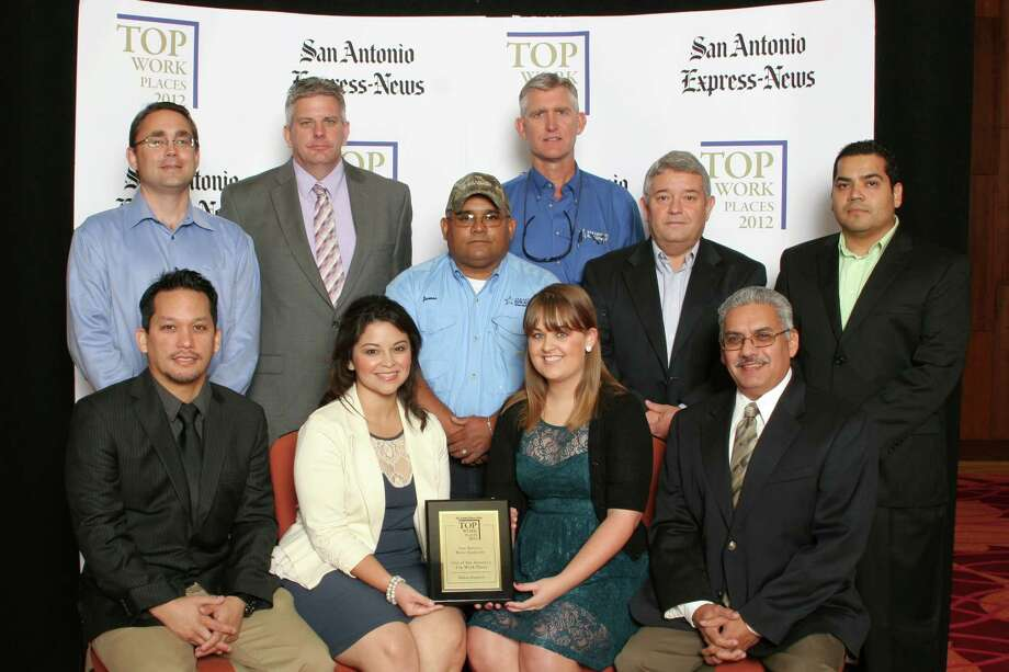 San Antonio River Authority ranks 12th among midsized businesses in San  Antonio at the 2012 San Antonio Express-News Top Workplaces Luncheon –  Wednesday, October 17, 2012 Photo: San Antonio Express-News