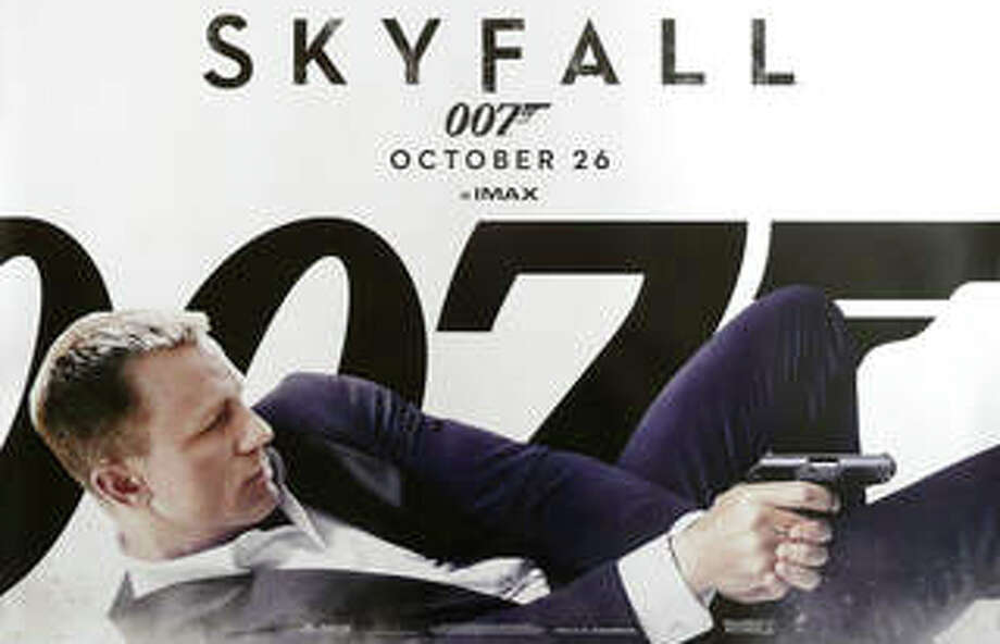 """Skyfall,"" the latest James Bond movie, is playing in area theaters. Photo: Contributed Photo / Westport News contributed"