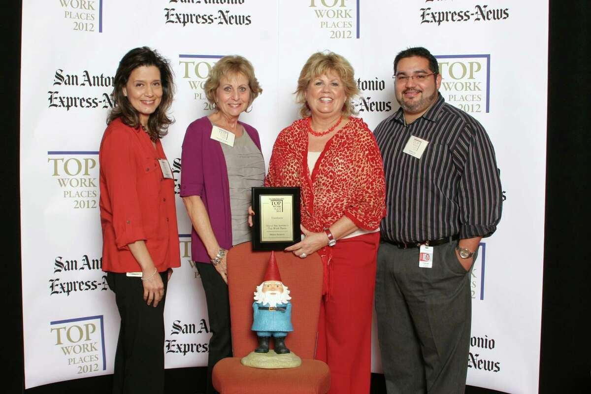 Travelocity ranks 19th among midsized businesses in San Antonio at the 2012 San Antonio Express-News Top Work Places Luncheon - Wednesday, October 17, 2012