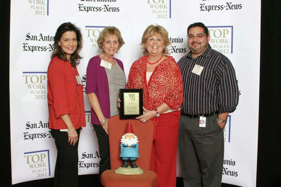 Travelocity ranks 19th among midsized businesses in San Antonio at the 2012 San Antonio Express-News Top Work Places Luncheon - Wednesday, October 17, 2012 Photo: San Antonio Express-News