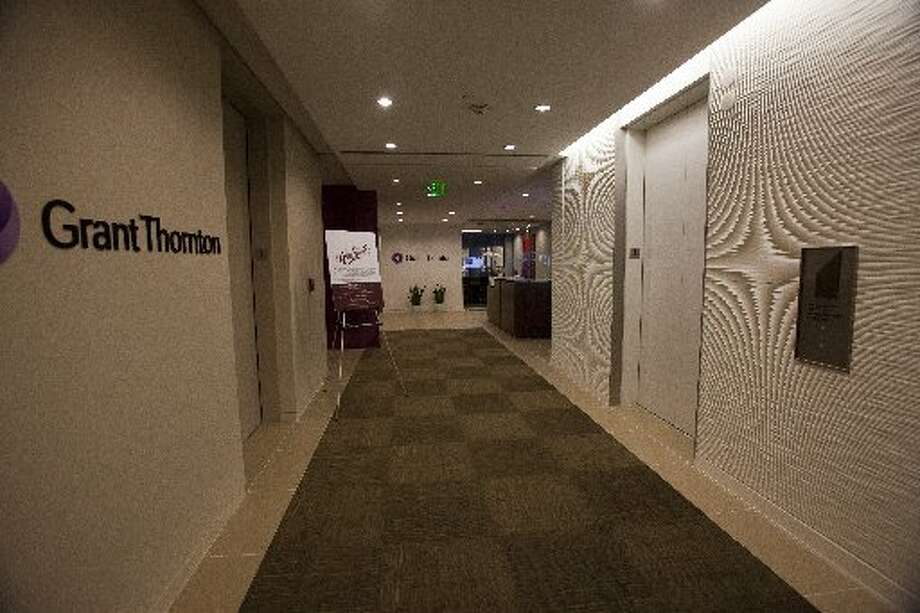 Grant Thornton is on the third and fourth floor of Pennzoil Place at 700 Milam. (Eric Kayne / For the Houston Chronicle)