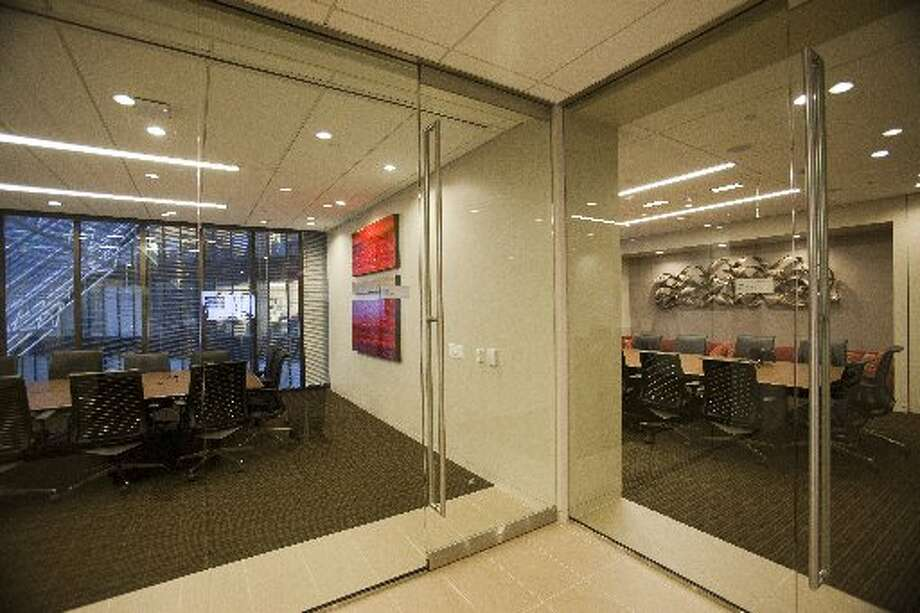 Plenty of glass is used in the design. (Eric Kayne / For the Houston Chronicle)
