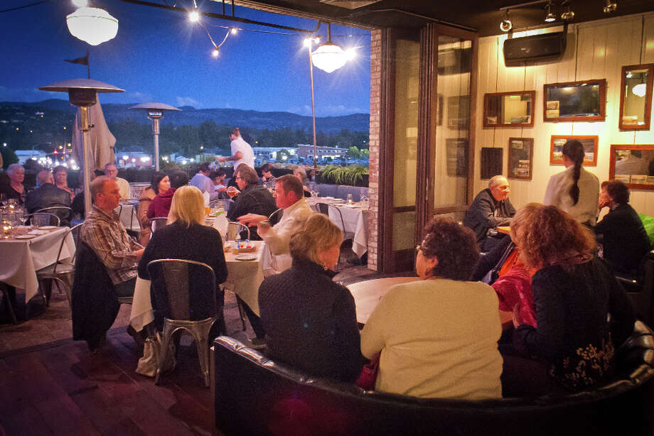 """While the service can be slipshod and the food somewhat disappointing, the place itself - both the interior and the wonderful roof deck - makes The Thomas an exciting place to be."" Photo: John Storey, Special To The Chronicle / John Storey"