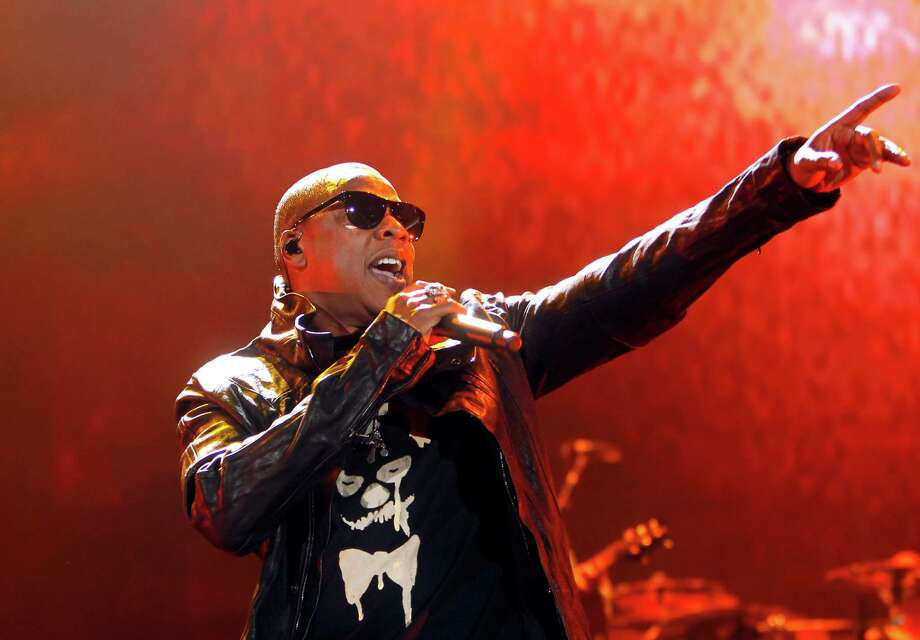 Jay-Z and Eminem hit up their hometown ballparks in 2010 as the two played Yankee Stadium and Detroit's Comerica Park, respectively. Good thing they didn't do these big shows this year since Eminem's Tigers swept Jay-Z's Yankees in the ALCS. Photo: Jason DeCrow, AP / FR103966 AP