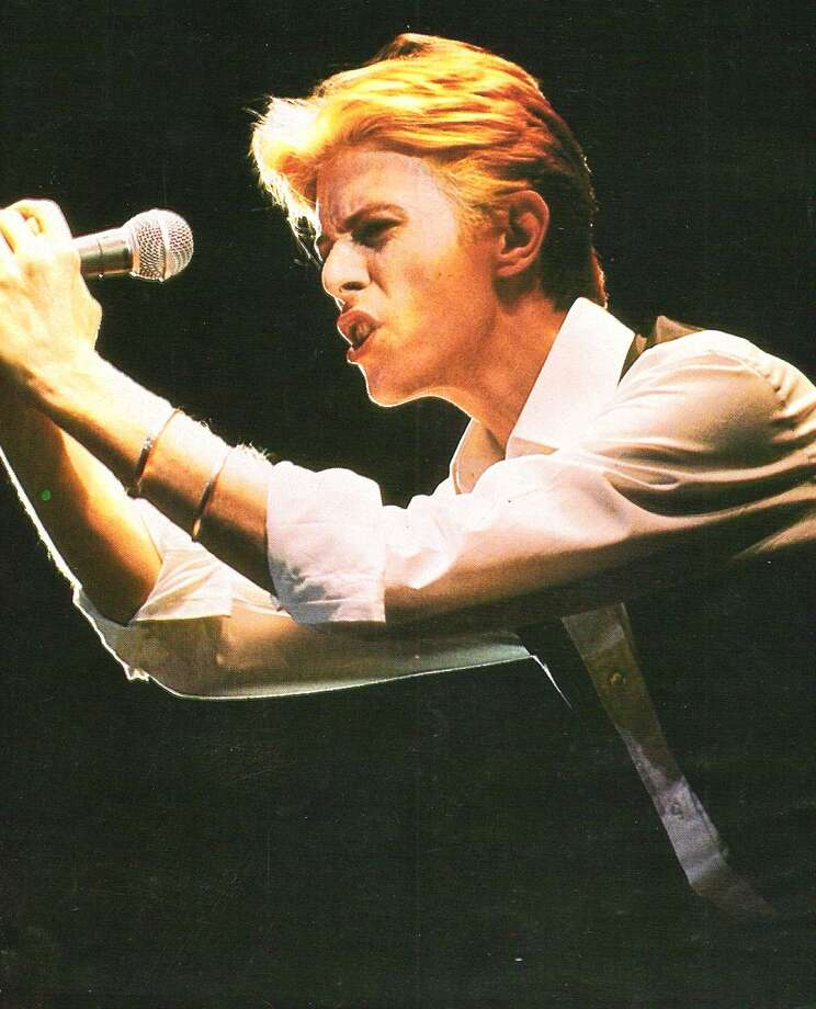 Bowie:  The thin white Duke has never given it away.  We can see him, but he never spills over.