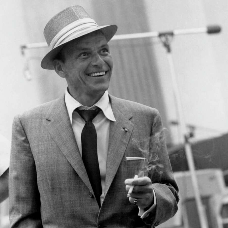 Sinatra:  Touchy, mean-spirited and status conscious, too worried about being cool to be innately cool, he somehow was cool anyway.  Something to do with Ava Gardner, maybe. Or with the voice.
