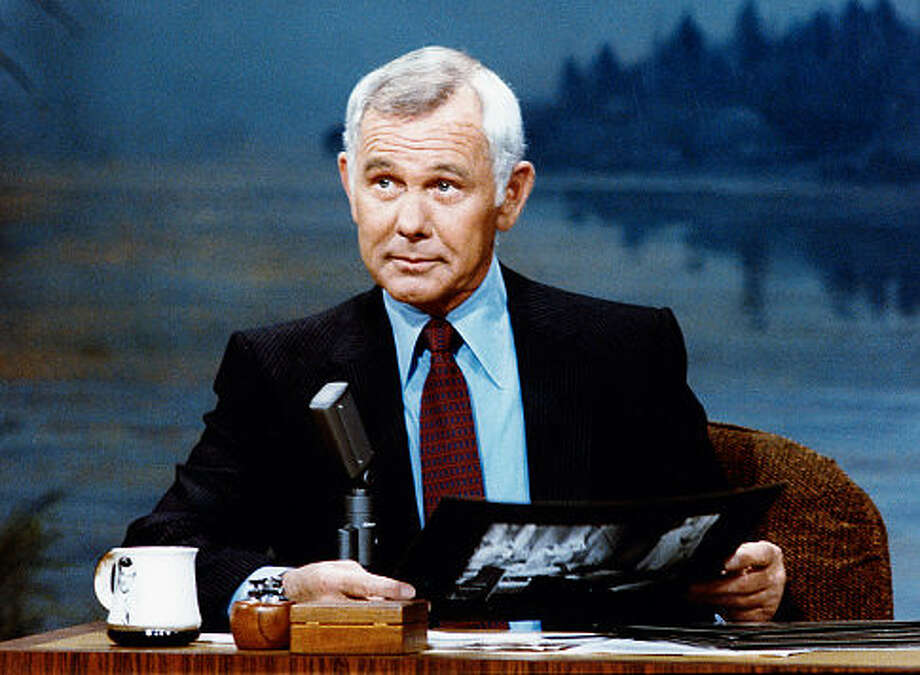 Johnny Carson?  Oh, yes.  Urbane, well-dressed, confident, amusing -- and always with just a suggestion that he could turn mean, that there was something hidden he wasn't showing us.