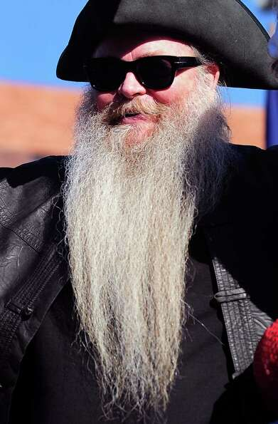 Long beards and moustaches were a common sight at the third annual National Beard and Moustache Cham