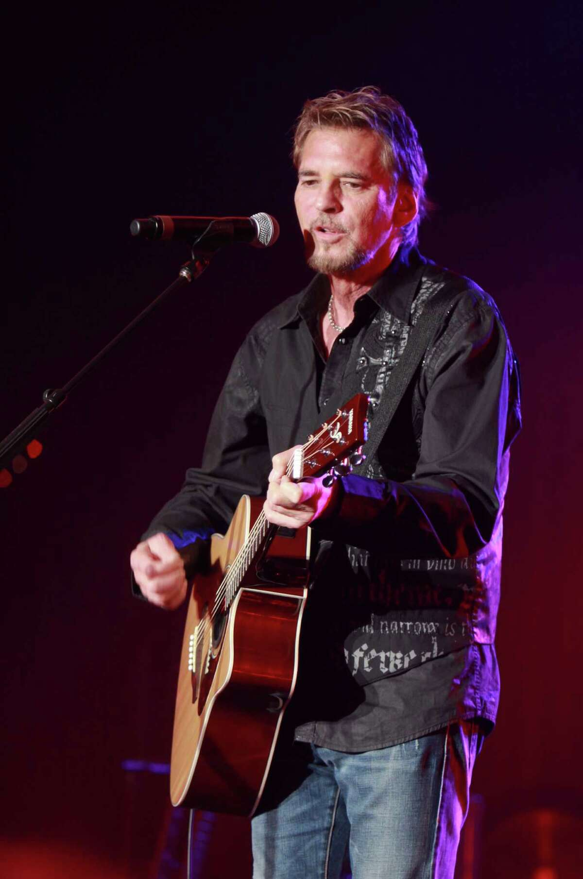 Kenny Loggins performs at The Stehlin gala.