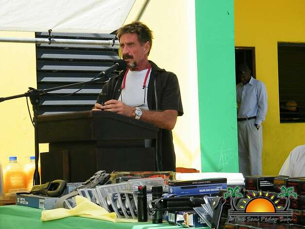 John McAfee, expatriate inventor of the widely used antivirus software bearing his name, reportedly lost most of his fortune in recent years. Photo: Courtesy 7 Belize News Read More