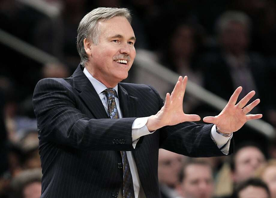 Mike D'Antoni (left) will be reunited with Steve Nash. Photo: Kathy Willens, Associated Press