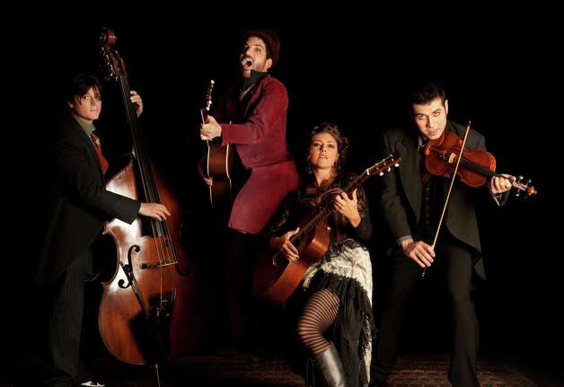 Party animals: Caravan of Theives, Bridgeport's beloved gypsy folk band, performs at Fairfield Theatre Company on Stage One on Friday, Nov. 23. Photo: Contributed Photo