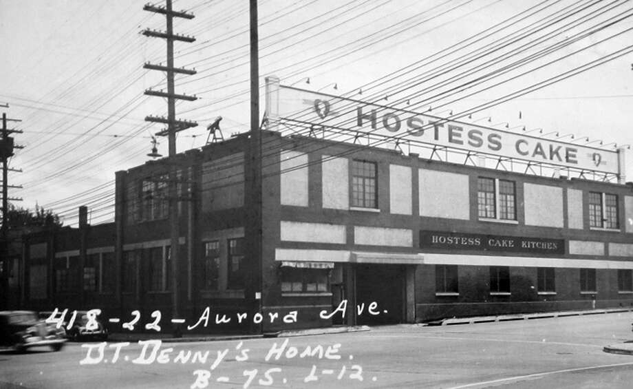 The Seattle Hostess plant in 1937. Photo: Puget Sound Regional Branch Of Washington State Archives