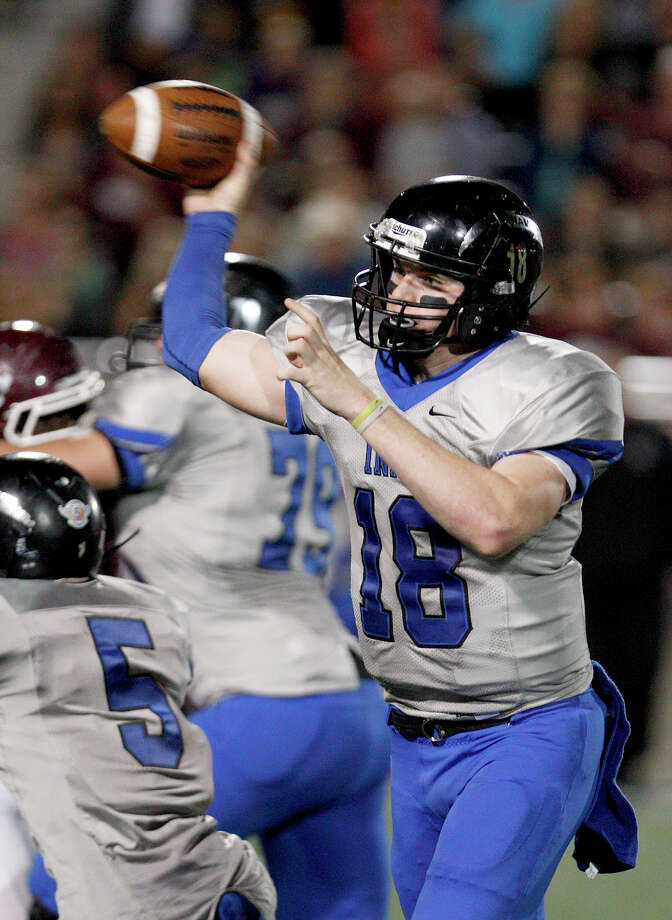 Clear Springs quarterback Zach Cripps has passed for 2,665 yards and 23 touchdowns this season. Photo: Thomas B. Shea / © 2012 Thomas B. Shea