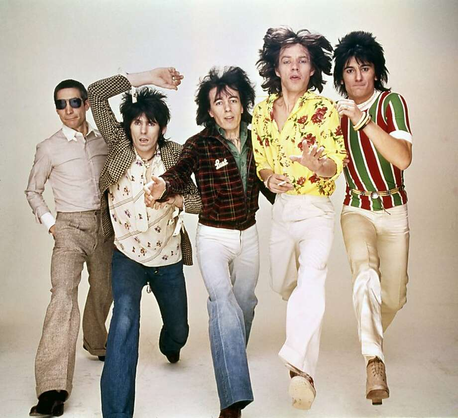 The film captures the energy and influence of the Rolling Stones - Charlie Watts (left), Keith Richards, Bill Wyman, Mick Jagger and Ronnie Wood. Photo: Rolling Stones Archive, HBO