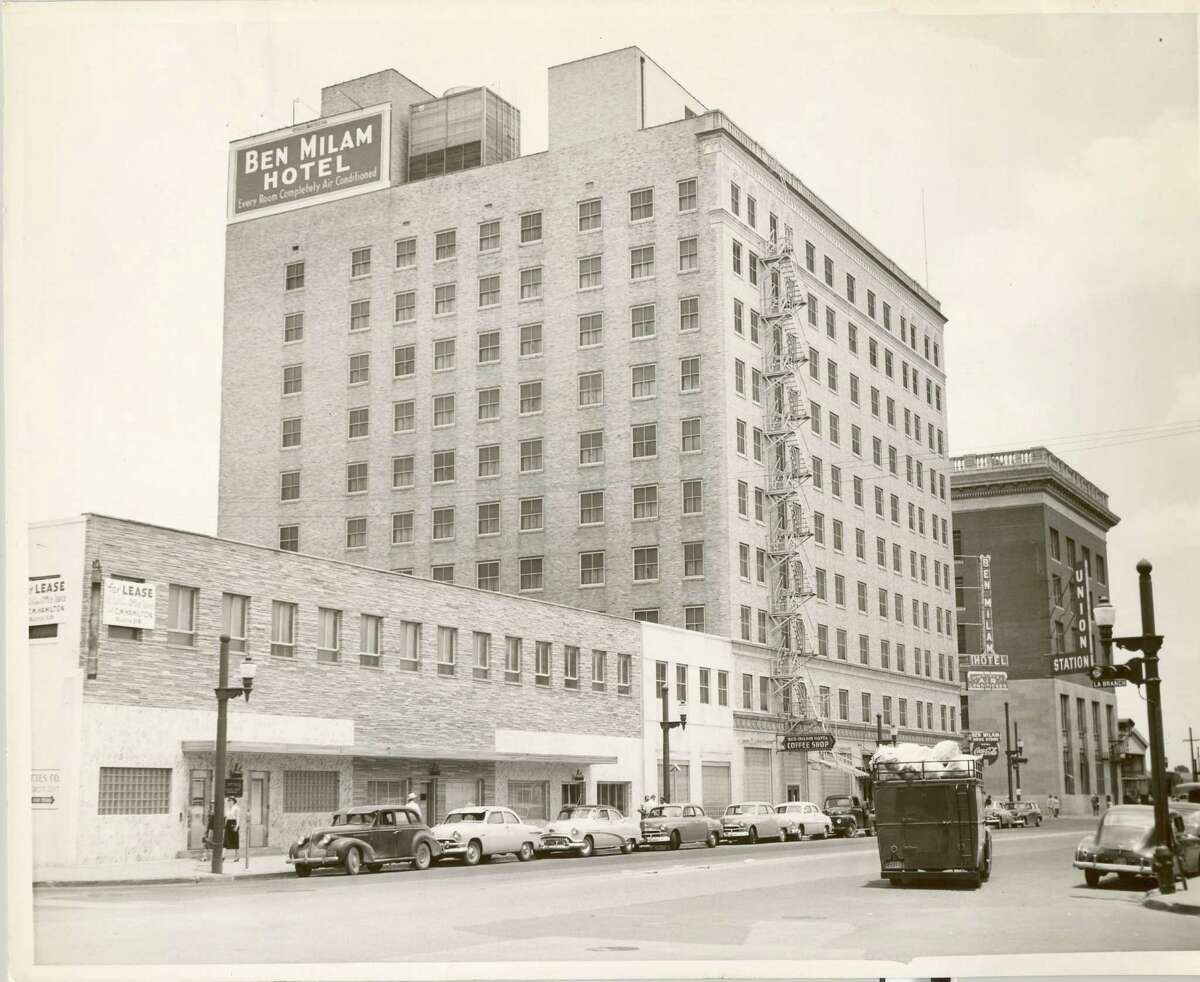 The Ben Milam, shown in 1952, was across the street from Union Station. It has been closed since the 1970s.