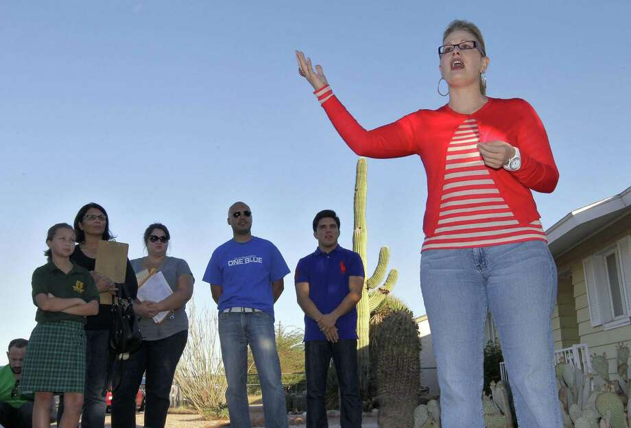 Kyrsten Sinema is the first openly bisexual person elected to the U.S. Congress. Photo: Matt York, STF / AP